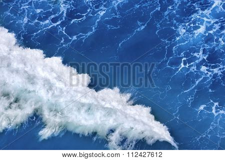 Turbulent Sea Water