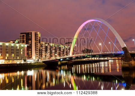 Clyde Arc Bridge.