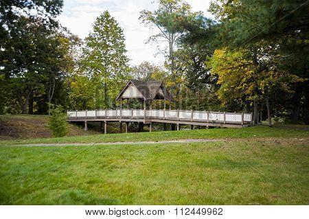 Bridge In Roger Williams Park