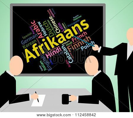 Afrikaans Language Means South Africa And Dialect
