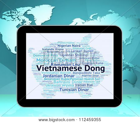 Vietnamese Dong Shows Worldwide Trading And Coin