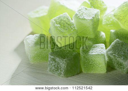 Natural green marmalade