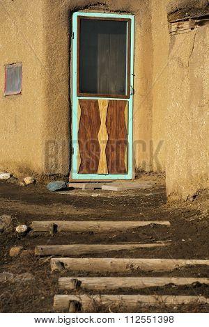 Entryway At The Taos Pueblo