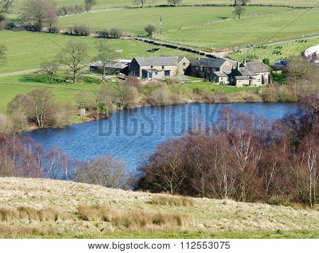 lyme park reservior in disley cheshire