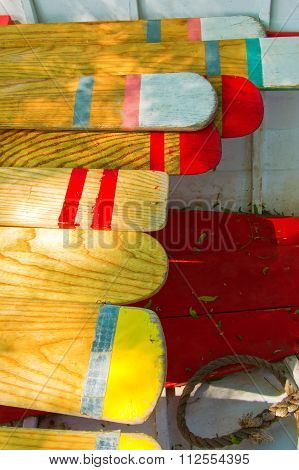 Oars of Many Colors