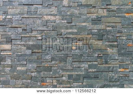 Closeup Of The Green Marble Wall Texture