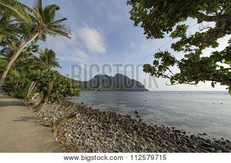Sumnanga Beach in Sabtang Island Phillipines.