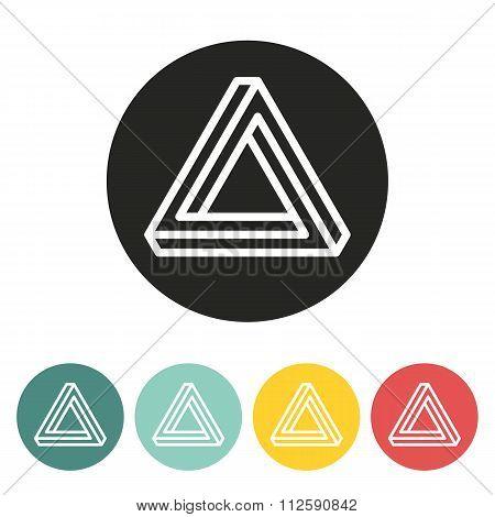 Triangle Icon.