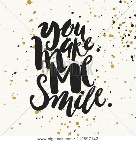 Smile Concept Inspirational Phrase.smiles Are Always In Fashion.