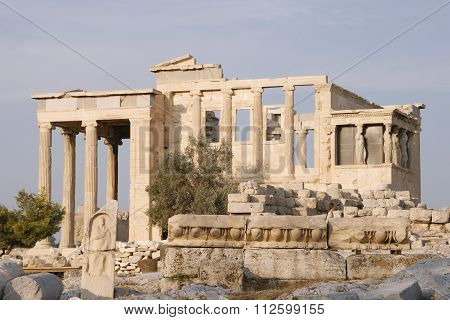Erechtheion - part of Acropolis in Athens