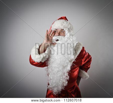 Santa Claus Is Screaming.