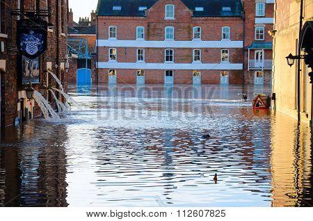 Floods In York........