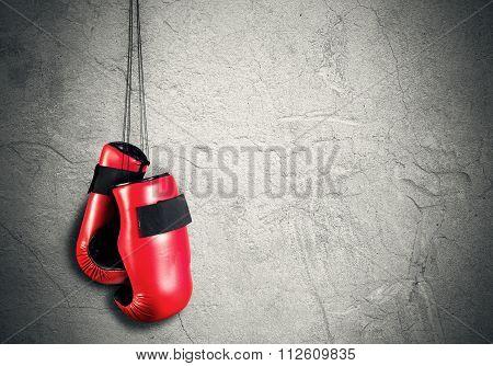 Boxing sport concept