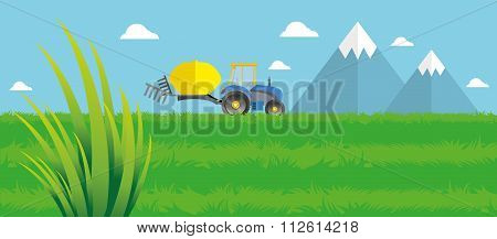 Field planting and harvesting.