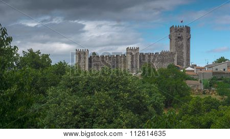 Portugal, Guarda District, Beira Interior, Sabugal Medieval Castle