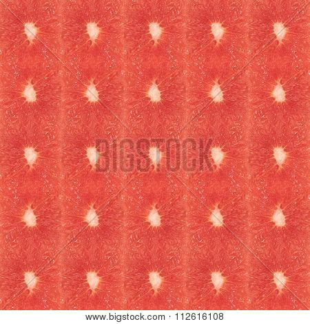 Grapefruit Squares Seamless Loopable Wallpaper
