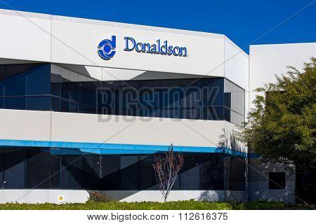 Donaldson Company Exterior And Logo