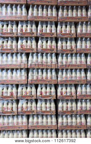 Bottled Soymilk