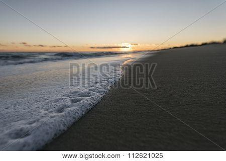 Seascape In Rhode Island