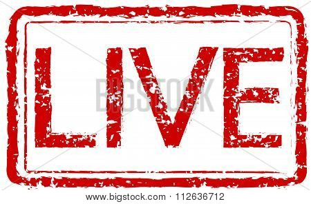 Stamp Text Live