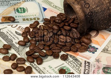 ?offee and money