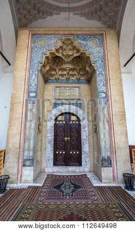 Gazi Husrev-beg Mosque in Sarajevo Bosnia and Herzegovina poster