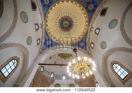 Sarajevo, Bosnia and Herzegovina - August 23, 2015: Gazi Husrev-beg Mosque in Sarajevo
