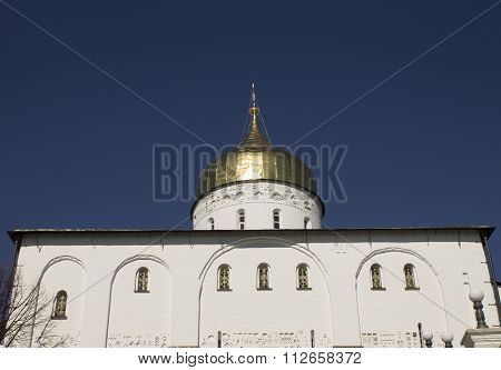 Orthodox Church And The Golden Domes