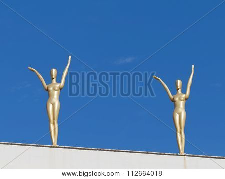 Golden Female Figures