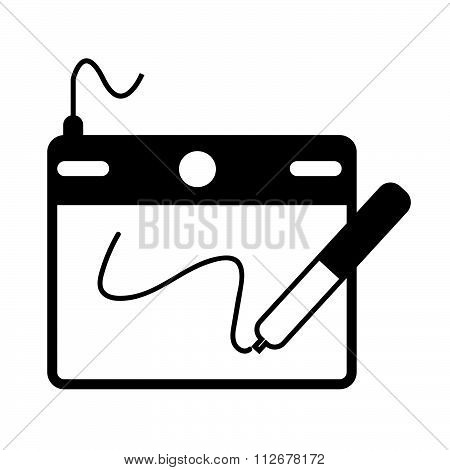 Digital Drawing Board Icon