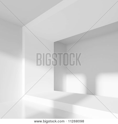 Abstrakt interiör