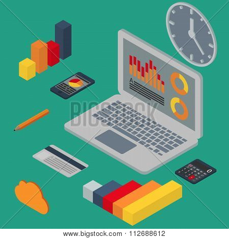 Vector illustration isometric
