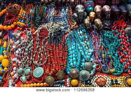 Souvenir shop in Kathmandu, Nepal
