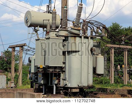 Electric Power High-voltage Transformer