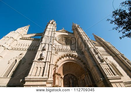 Cathedral La Seu, Church In Palma De Mallorca, Majorca, Spain