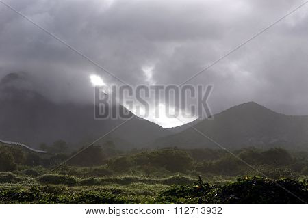 South America Venezuela Isla Margatita La Asuncion Landscape