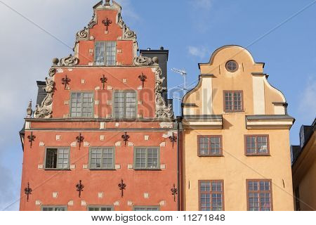 Big Square in old town, Stockholm