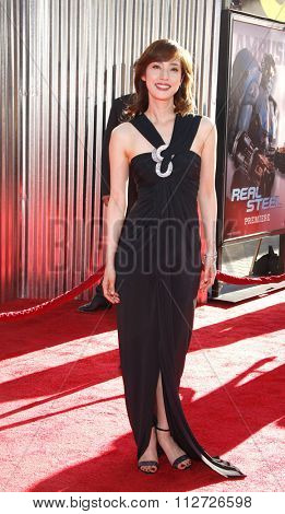 HOLLYWOOD, CALIFORNIA - October 2, 2011. Yumi Amami at the Los Angeles premiere of