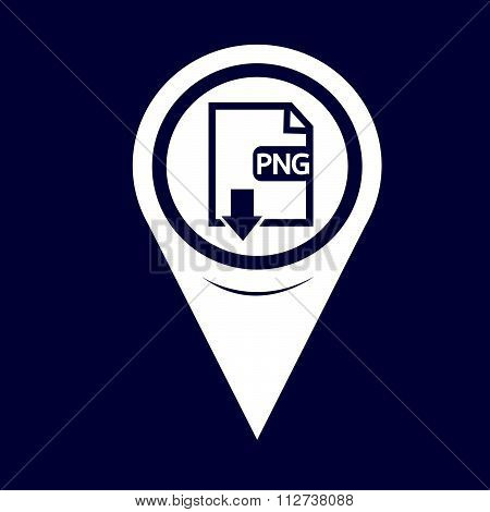 Map Pin Pointer File type PNG icon poster