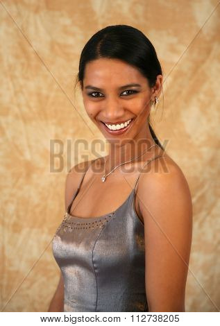Smiling East Indian Lady