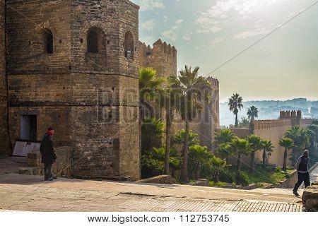 Kasbah Of The Udayas. Rabat, Morocco.