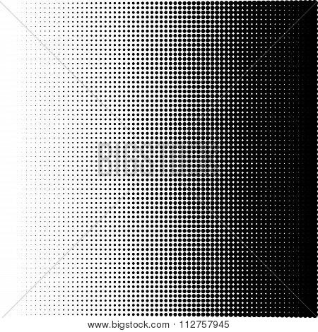 Vector illustration of a halftone pattern