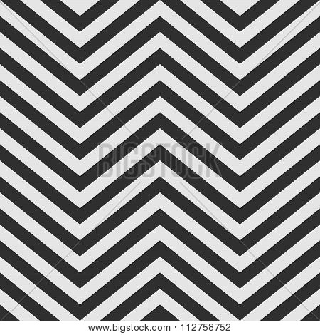 Black And White V Shape Chevron Background