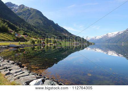 Norway Fiord Landscape