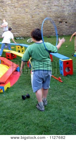 Child/ Boy Playing
