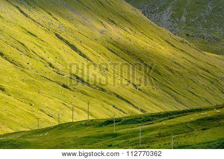Steep Slope Glen Lyon