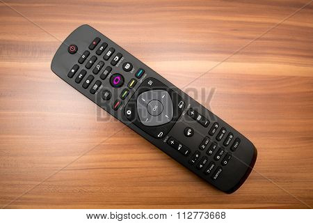 remote control on the table
