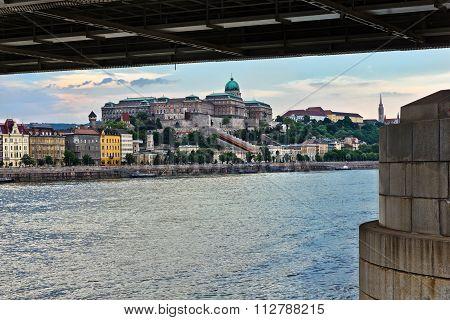 Old City Center Of Budapest