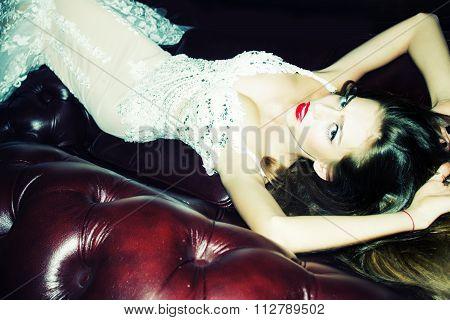 Elegant Sexy Woman