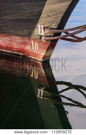 Schooner Waterline Detail